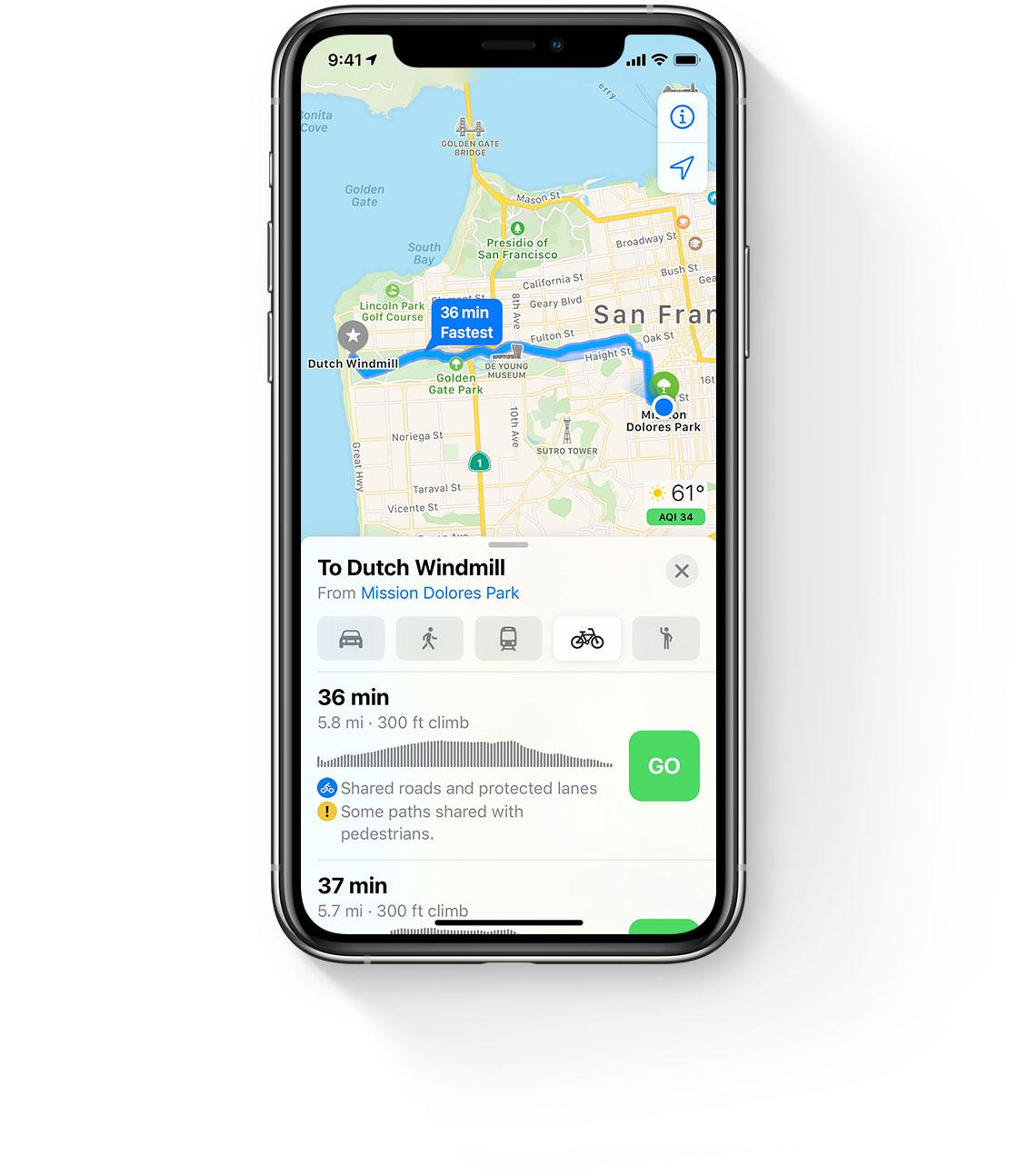 iOS 14 Haritalar: Elektrikli Araçlar için Özel Yol Tarifleri