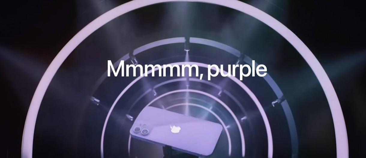 Mor Renkli iPhone 12 ve iPhone 12 Mini Tanıtıldı!